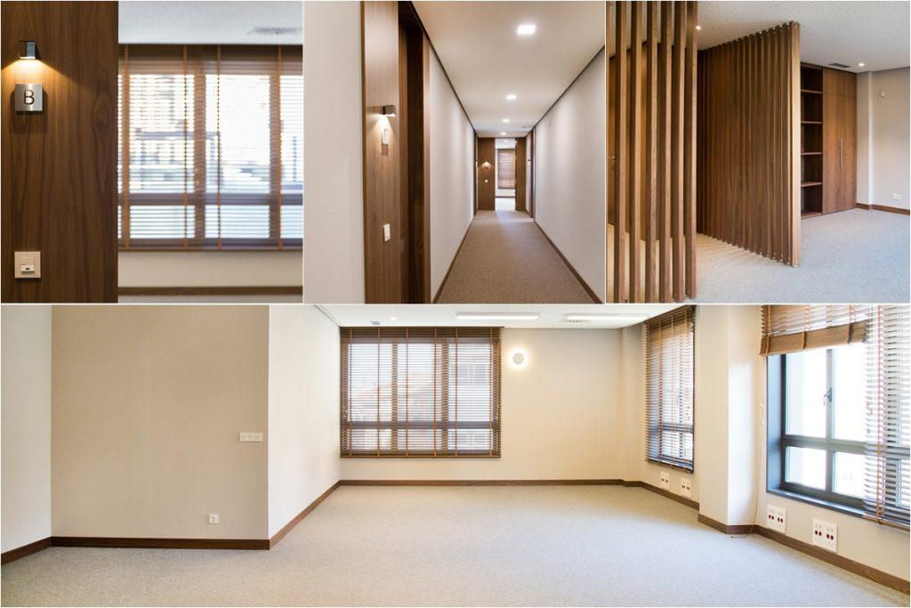 Interior oficinas nuevas en alquiler Torre Pizarro