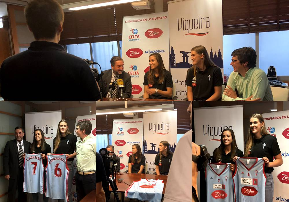Grupo Viqueira se incorpora como patrocinador al proyecto del Real Club Celta de Baloncesto Femenino