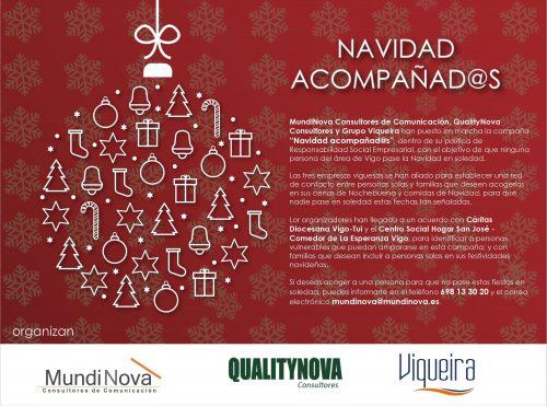 Grupo Viqueira participa en la campaña Navidad Acompañados